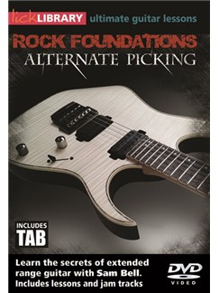 Lick Library: Rock Foundations Alternate Picking DVDs / Videos | Guitar
