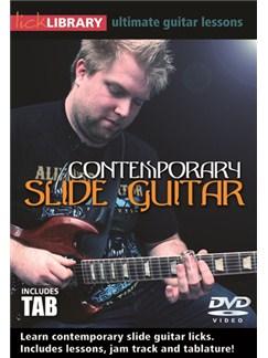 Lick Library: Contemporary Slide Guitar DVDs / Videos | Guitar