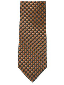 Polyester Tie: Treble Clefs   
