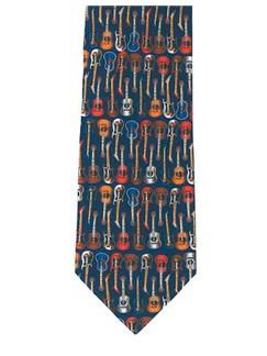 Silk Tie: Guitars  | Guitar