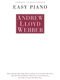 Andrew Lloyd Webber: Easy Piano Books | Piano & Vocal