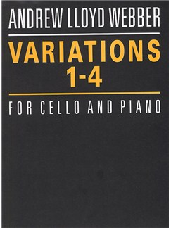Andrew Lloyd Webber: Variations 1-4 Books | Cello, Piano