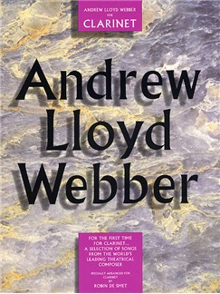 Andrew Lloyd Webber For Clarinet Books | Clarinet, with chord symbols