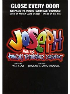 Andrew Lloyd Webber: Close Every Door (Joseph And The Amazing Technicolor Dreamcoat) Books | Voice, Piano Accompaniment