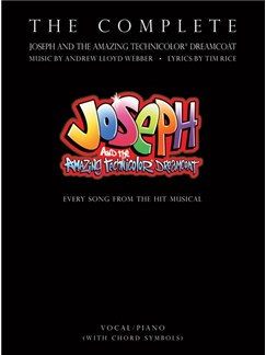 The Complete Joseph And The Amazing Technicolor Dreamcoat Books | Voice, Piano Accompaniment (with Chord Boxes)