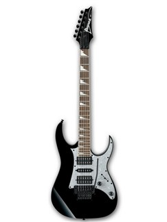 Ibanez: RG350DXZ RG Series HSH Edge Zero Trem Electric Guitar - Black Instruments | Electric Guitar