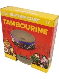 Remo: Rhythm Club 6 x 1.75 Inch Tambourine Instruments | Percussion