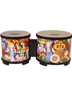 Remo: Rhythm Club 5 & 6 Inch Bongos Instruments | Percussion