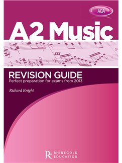 Richard Knight: AQA A2 Music Revision Guide Books |