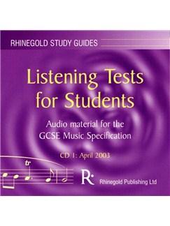 Ian Burton: AQA GCSE Music Listening Tests Book 1 - Audio CD/Teacher's Guide CDs |