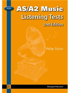 Philip Taylor: AQA AS/A2 Music Listening Tests - 2nd Edition (For AS and A2 examinations from 2009) Books |