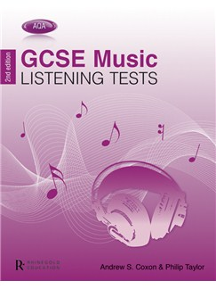Philip Taylor/Andrew Coxon: AQA GCSE Music Listening Tests - 2nd Edition Books |