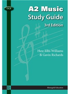 Huw Ellis-Williams/Gavin Richards: OCR A2 Music Study Guide - 3rd Edition Books |