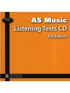 OCR AS Music Listening Tests CD - 3rd Edition CDs |