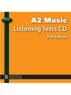 OCR A2 Music Listening Tests CD - 2nd Edition CDs |