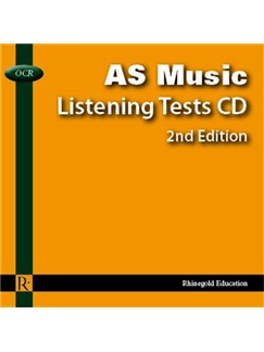 Veronica Jamset/Huw Ellis-Williams: OCR AS Music Listening Tests - Audio CD CDs |