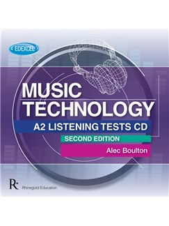 Alec Boulton/Alan Charlton: Edexcel A2 Music Technology Listening Tests, CD - 2nd Edition CDs |