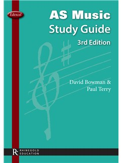 David Bowman & Paul Terry: Edexcel AS Music Study Guide - 3rd Edition Books |