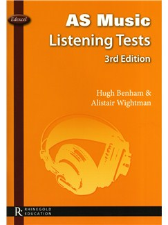 Hugh Benham/Alistair Wightman: Edexcel AS Music Listening Tests - 3rd Edition Books |