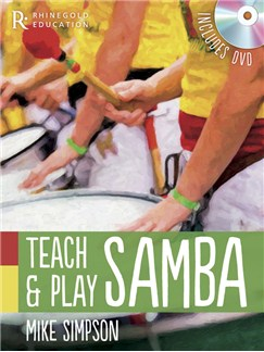 Mike Simpson: Teach And Play Samba Books and DVDs / Videos | Percussion