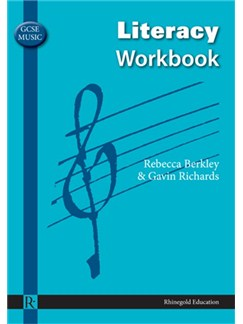 Rebecca Berkley/Gavin Richards: GCSE Music Literacy Workbook Books |
