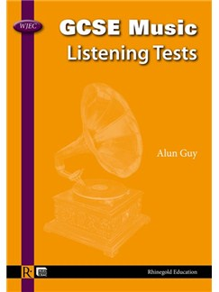 Alan Guy: WJEC GCSE Music Listening Tests - English Books |