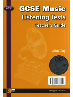 Alun Guy: WJEC GCSE Music Listening Tests - Teacher's Guide/CD (English/Welsh) Books |