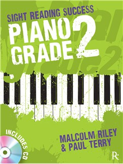 Malcolm Riley/Paul Terry: Sight Reading Success - Piano Grade 2 Books and CDs | Piano