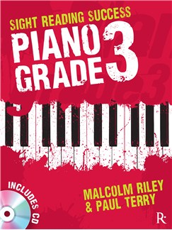 Rhinegold Education: Sight Reading Success - Piano Grade 3 By Malcolm Riley & Paul Terry CD et Livre | Piano