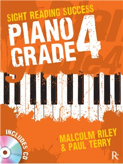 Rhinegold Education: Sight Reading Success - Piano Grade 4 By Malcolm Riley & Paul Terry Books and CDs | Piano