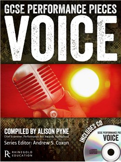 GCSE Performance Pieces - Voice Books and CDs | Voice, Piano Accompaniment