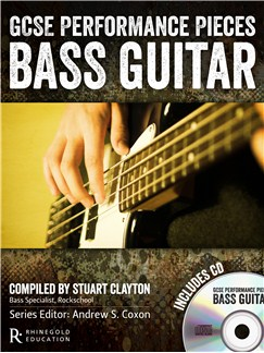 Rhinegold Education: GCSE Performance Pieces - Bass Guitar Books and CDs | Bass Guitar