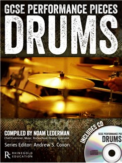 Rhinegold Education: GCSE Performance Pieces - Drums Books and CDs | Drums