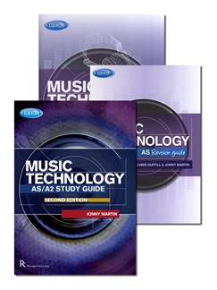 Edexcel AS/A2 Music Technology Exam Pack Books |