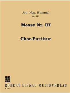 Johann Nepomuk Hummel: Mass In D Major Op.111 Books | Voice