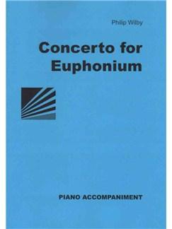 Philip Wilby: Concerto For Euphonium Books | Euphonium, Piano Accompaniment
