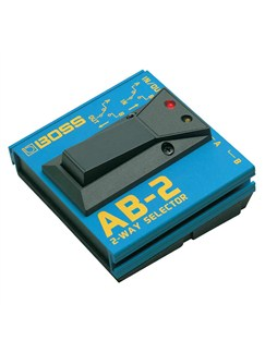 Boss: AB-2 2-Way Selector Footswitch  | Electric Guitar