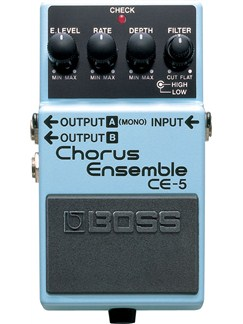 Boss: CE-5 Chorus Ensemble Pedal  | Electric Guitar