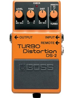 Boss: DS-2 Distortion Pedal  | Electric Guitar
