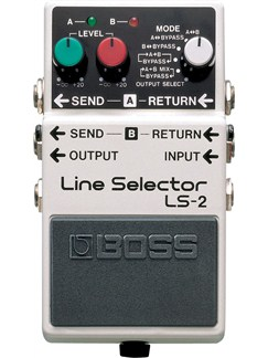 Boss: Line Selector Pedal  | Electric Guitar