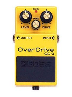 Boss: OD-3 Overdrive Pedal  | Electric Guitar