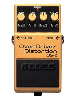 Boss: OS-2 Overdrive/Distortion Pedal  | Electric Guitar