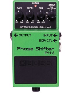 Boss: PH-3 Phase Shifter Pedal  | Electric Guitar