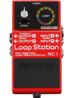 Boss: RC-1 Loop Station  | Guitar
