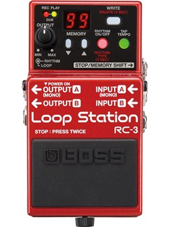 Roland: RC-3 Loop Station Pedal  | Electric Guitar