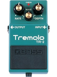Boss: TR2 Tremolo Pedal  | Electric Guitar