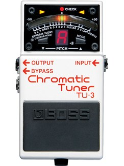 Boss: TU-3 Chromatic Tuner Pedal  | Electric Guitar