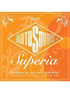 Rotosound: Superia - Nylon Classical Guitar Strings (Standard Tie Ends)  | Classical Guitar