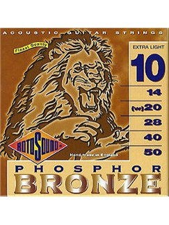 Rotosound: Phosphor Bronze Acoustic Guitar Strings (Extra Light)  | Acoustic Guitar