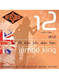 Rotosound: Phosphor Bronze Acoustic Guitar Strings (Medium Light)  | Acoustic Guitar